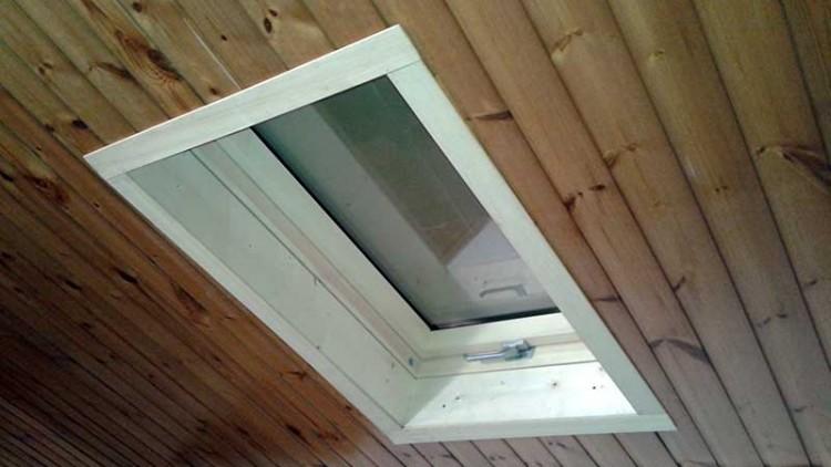 Gaetanox elettrolux di perrone g for Finestre a tetto